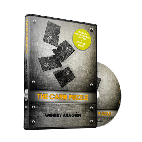 제이엘매직 카드퍼즐(The Card Puzzle (DVD and Cards) by Woody Aragon)