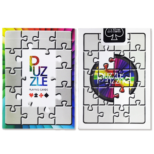 제이엘매직 퍼즐덱(Bicycle Puzzle Playing Cards)