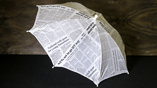 News Paper Umbrella***News Paper Umbrella***